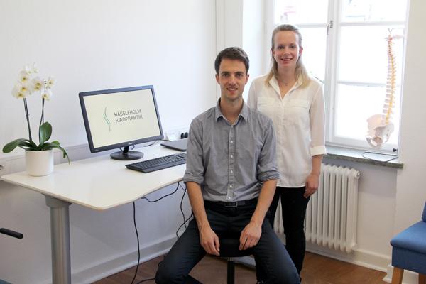 Caroline Kautsky och Guus Dekkers Hässleholm Kiropraktik